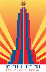 Penya Barcelonista de Miami Logo